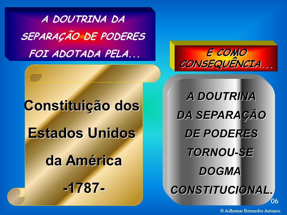 Constituição dos Estados Unidos da América -1787-