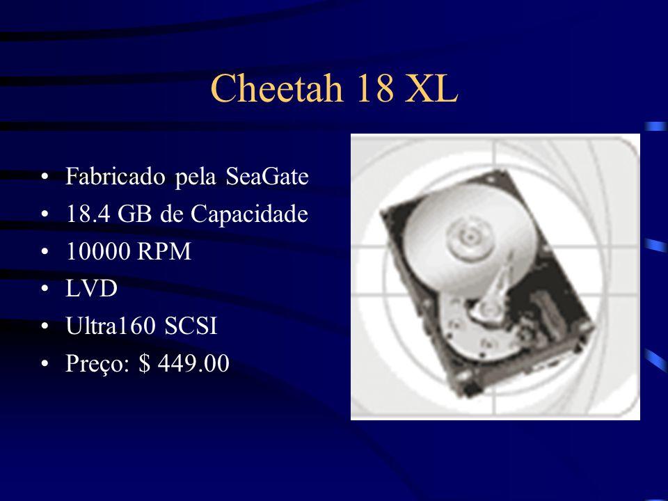 Cheetah 18 XL Fabricado pela SeaGate 18.4 GB de Capacidade 10000 RPM