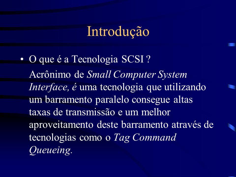 Introdução O que é a Tecnologia SCSI