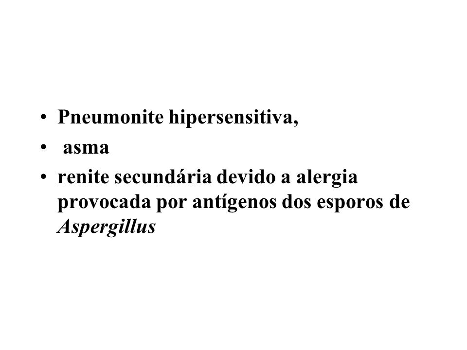 Pneumonite hipersensitiva,