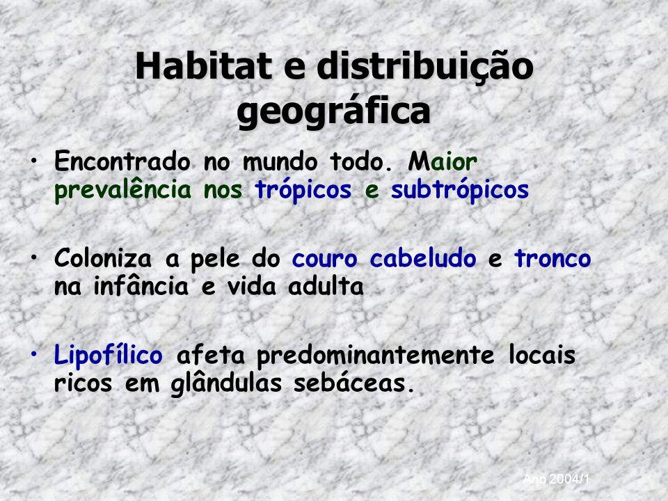 Habitat e distribuição geográfica