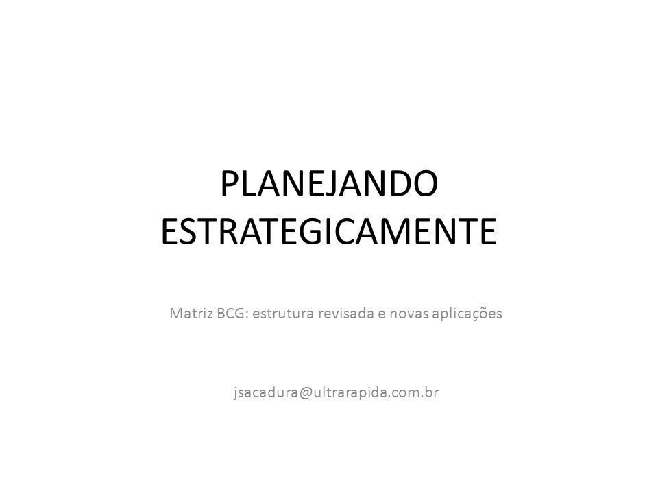 PLANEJANDO ESTRATEGICAMENTE