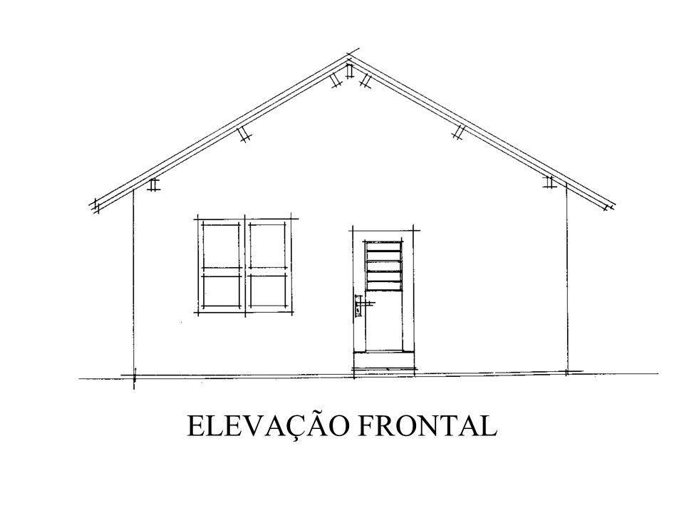 ELEVAÇÃO FRONTAL