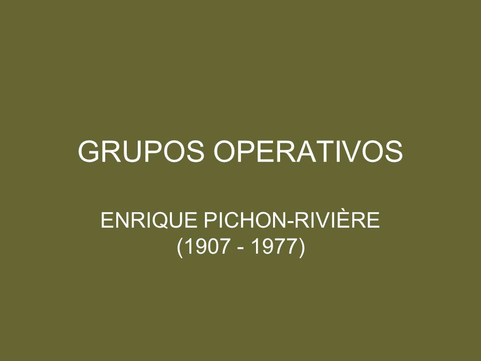 ENRIQUE PICHON-RIVIÈRE (1907 - 1977)