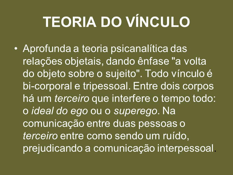 TEORIA DO VÍNCULO