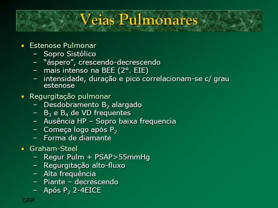 Veias Pulmonares Estenose Pulmonar Sopro Sistólico