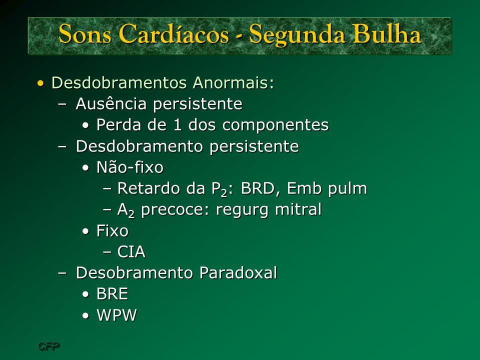 Sons Cardíacos - Segunda Bulha