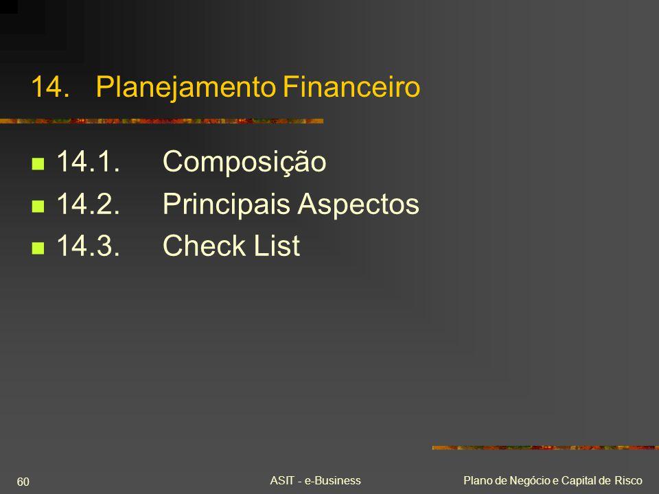 14. Planejamento Financeiro