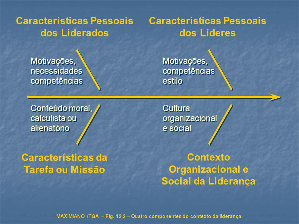 Características Pessoais dos Liderados