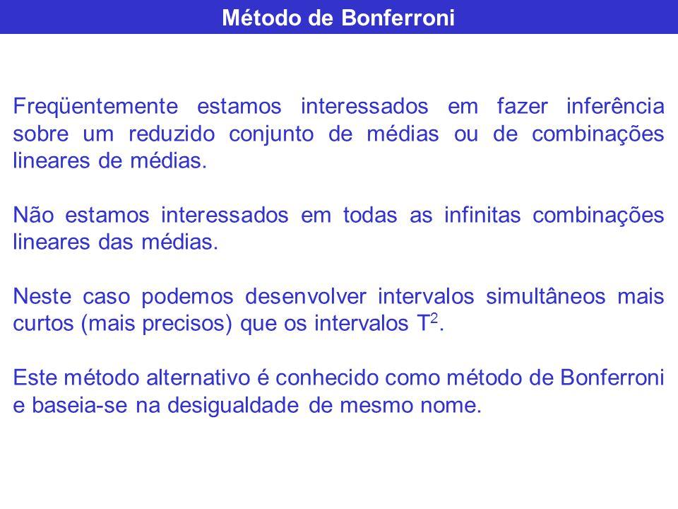 Método de Bonferroni