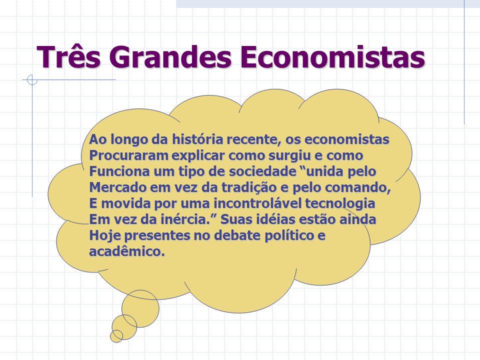 Três Grandes Economistas