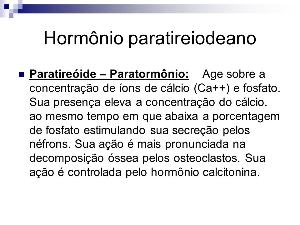 Hormônio paratireiodeano