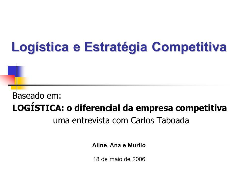 Logística e Estratégia Competitiva