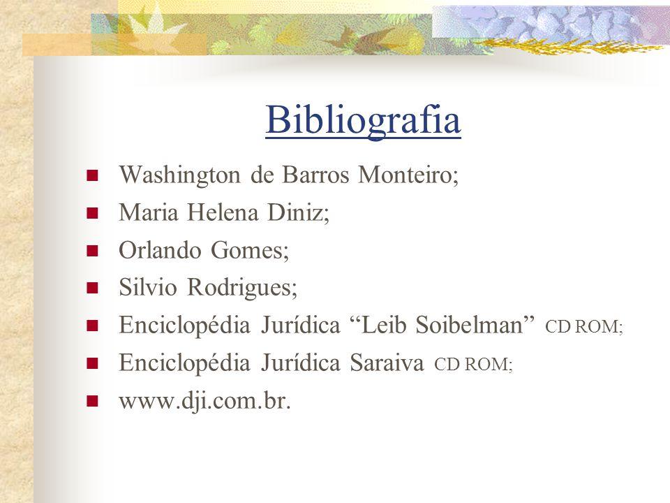 Bibliografia Washington de Barros Monteiro; Maria Helena Diniz;