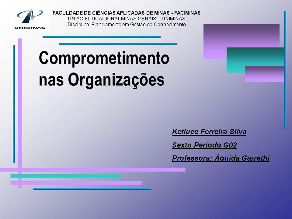 Comprometimento nas Organizações