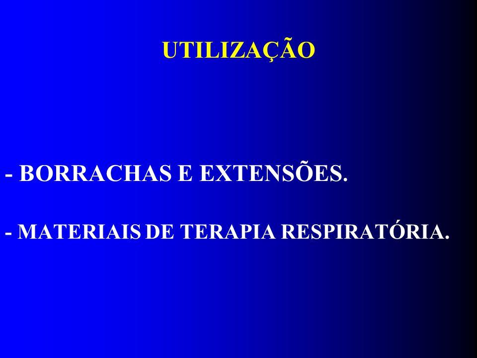 - BORRACHAS E EXTENSÕES.