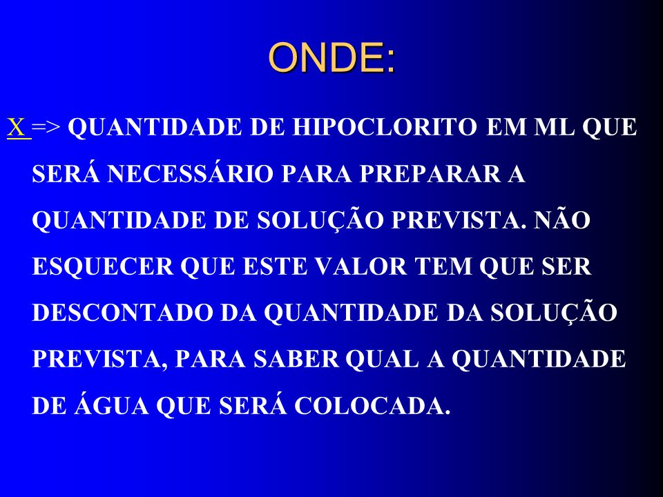 ONDE: