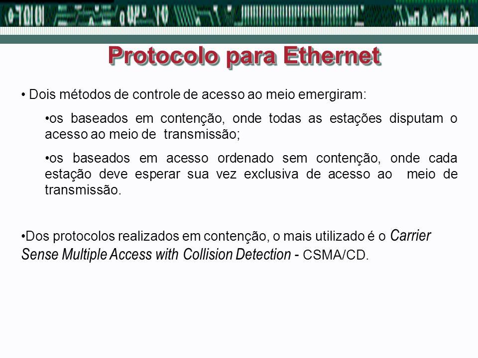 Protocolo para Ethernet