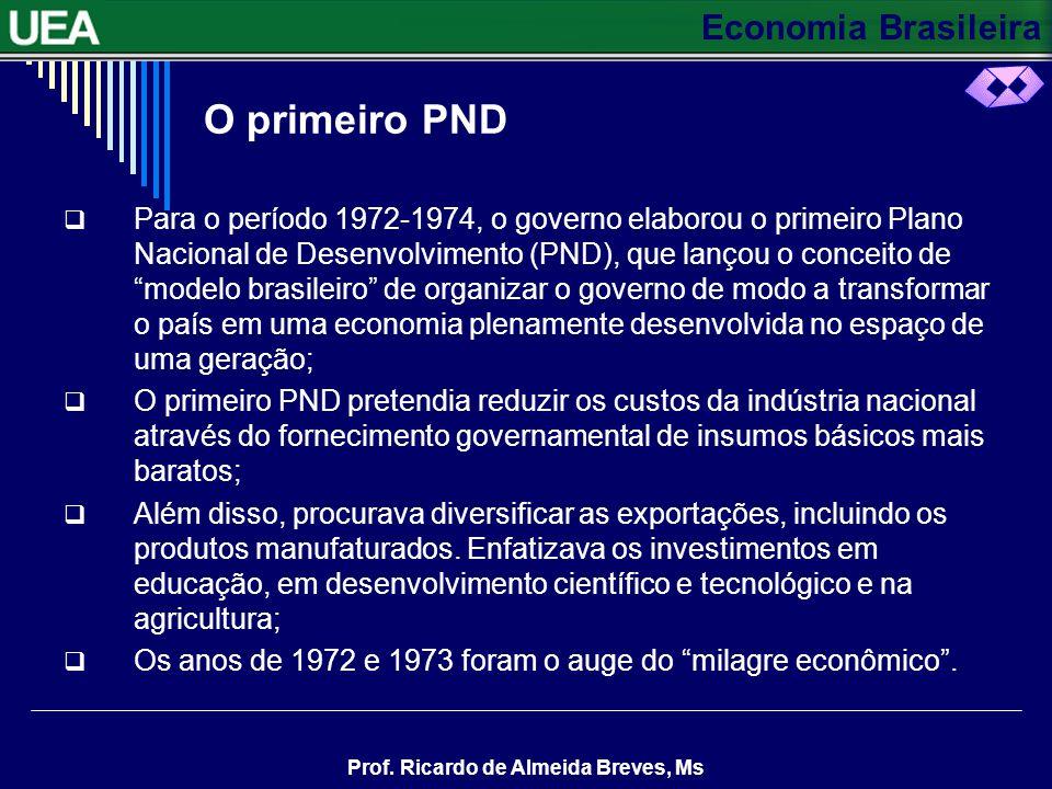 O primeiro PND