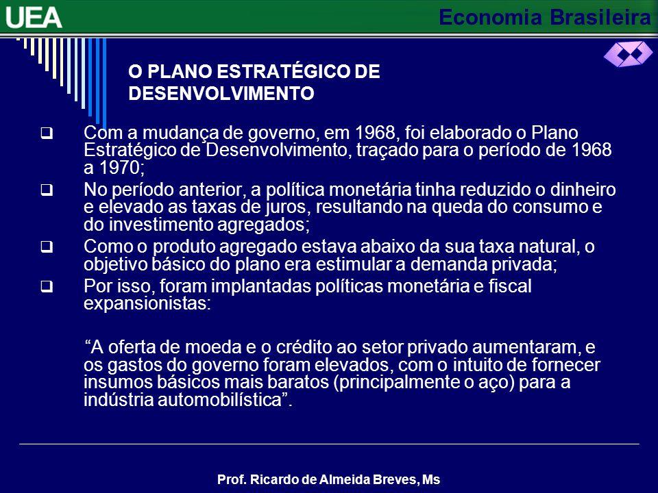 O PLANO ESTRATÉGICO DE DESENVOLVIMENTO