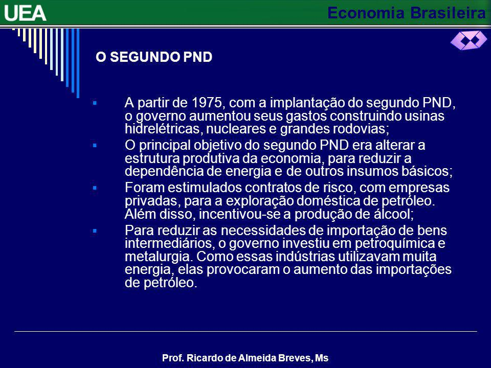 O SEGUNDO PND