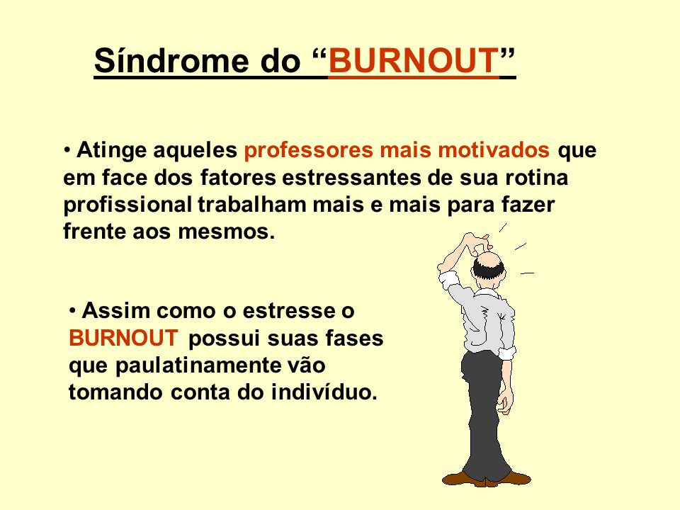 Síndrome do BURNOUT