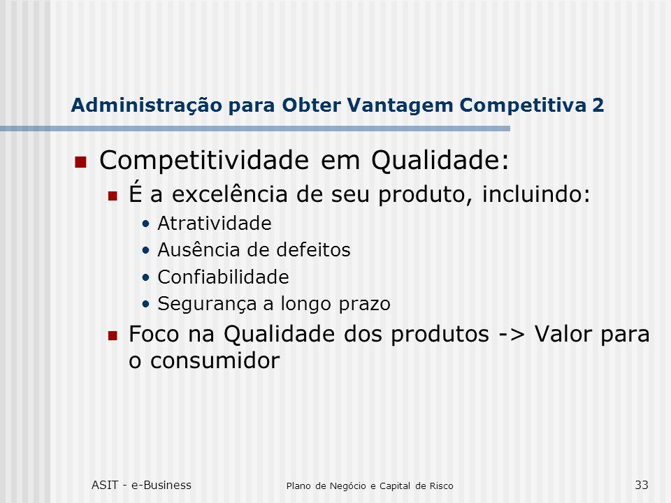 Administração para Obter Vantagem Competitiva 2