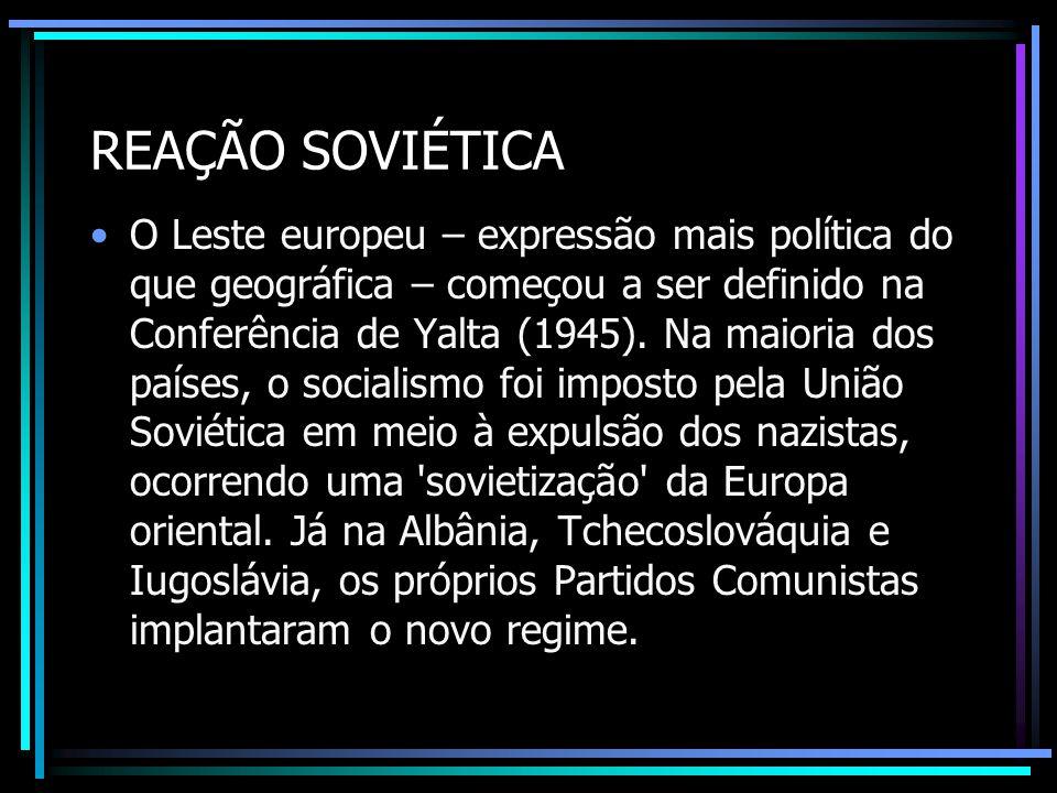 REAÇÃO SOVIÉTICA