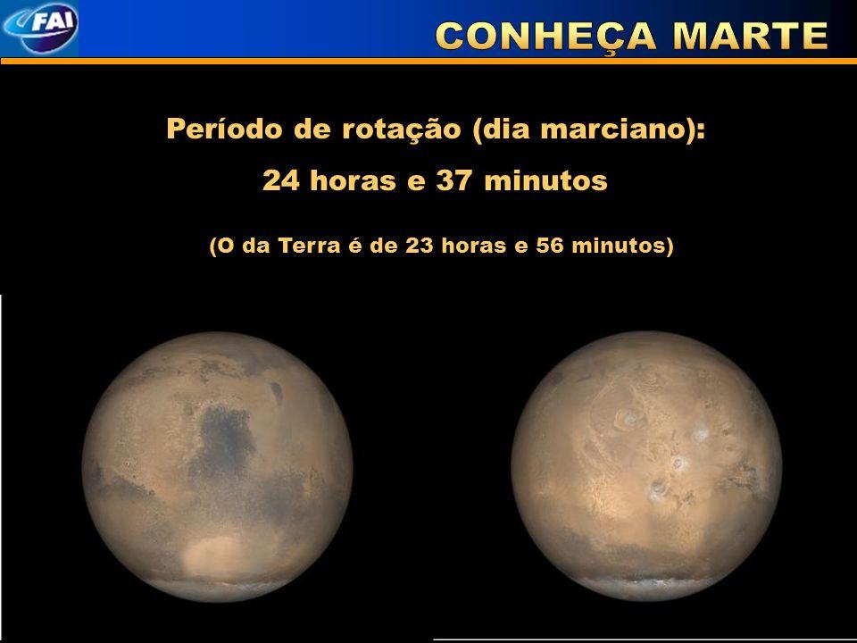 Período de rotação (dia marciano):
