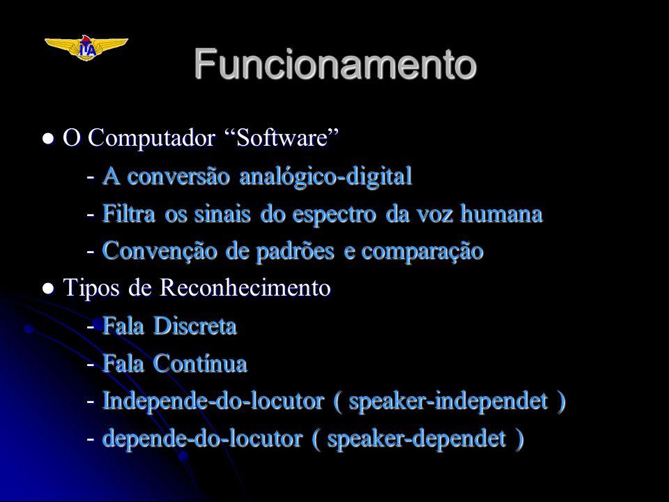 Funcionamento ● O Computador Software