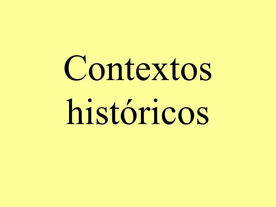 Contextos históricos