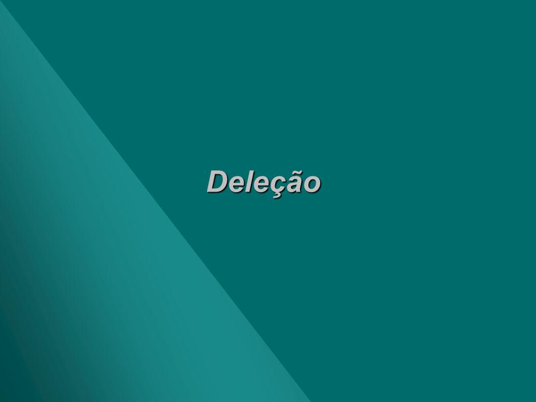 Deleção