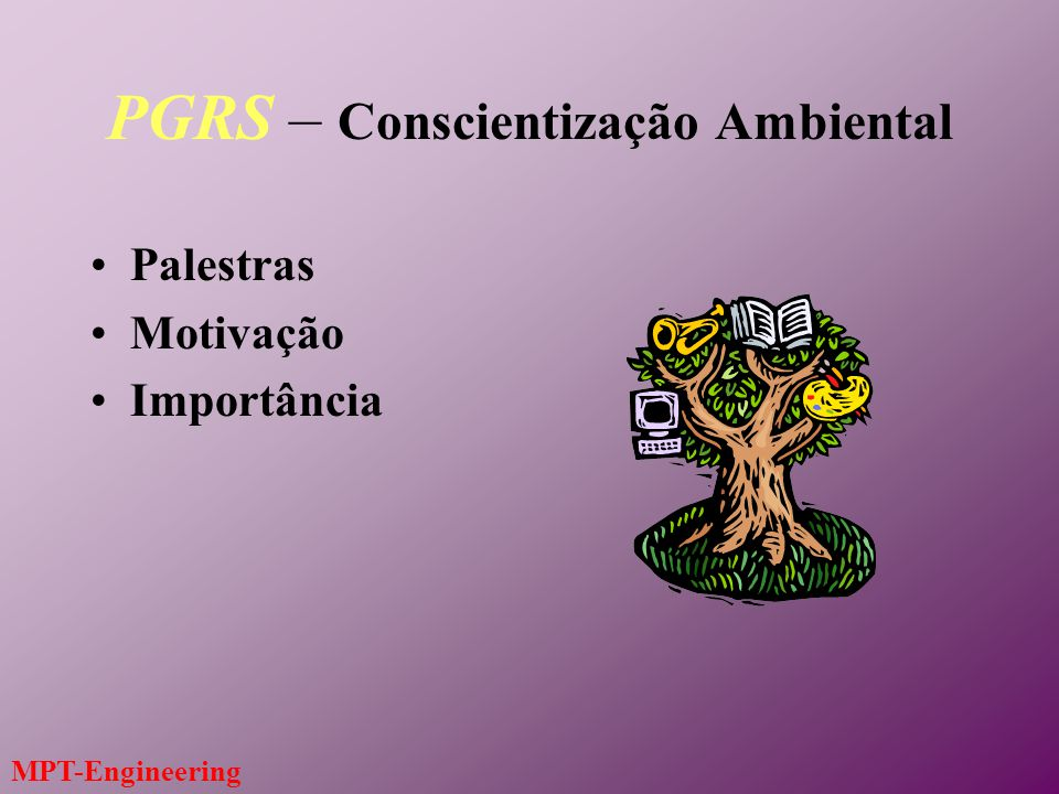 PGRS – Conscientização Ambiental
