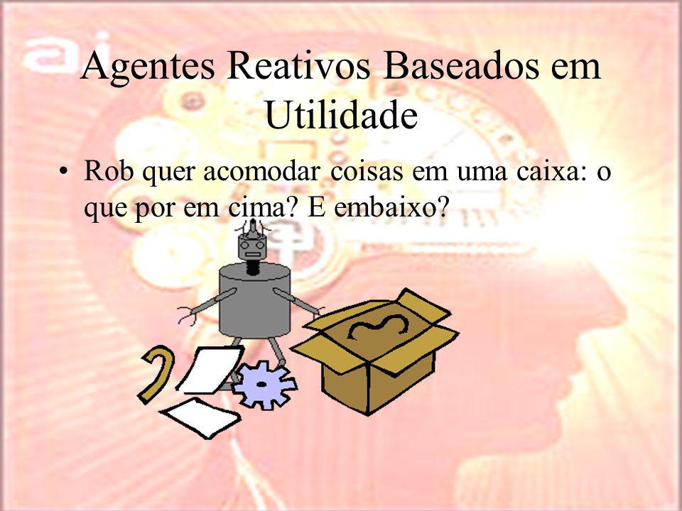 Agentes Reativos Baseados em Utilidade