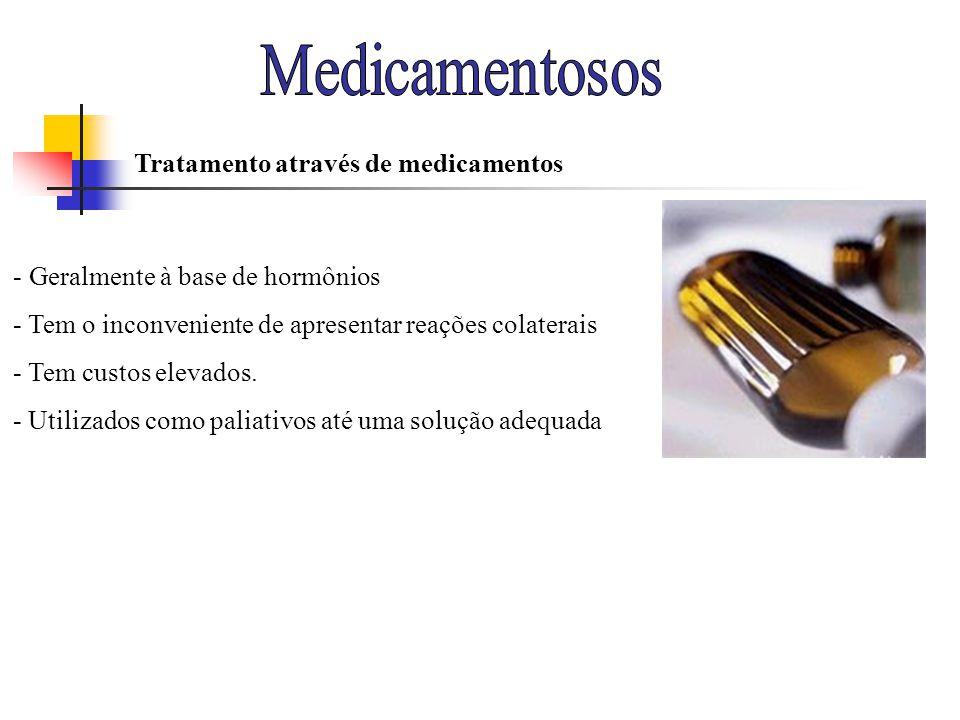 Medicamentosos Tratamento através de medicamentos
