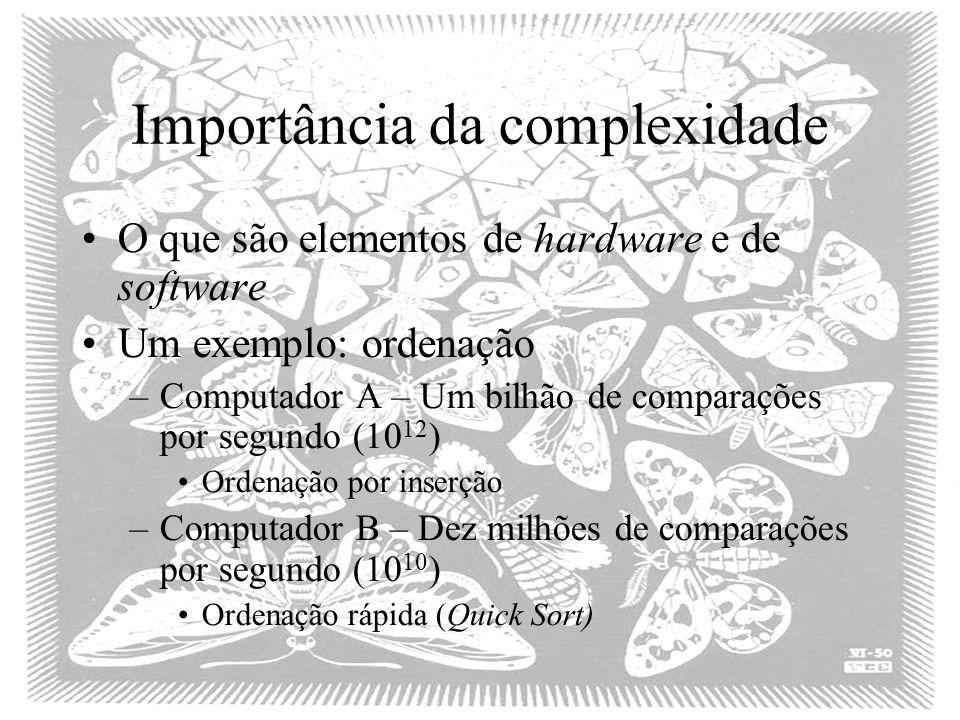 Importância da complexidade