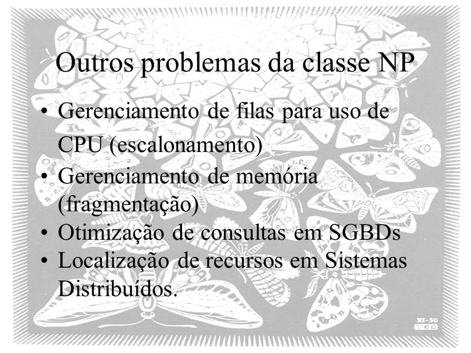 Outros problemas da classe NP