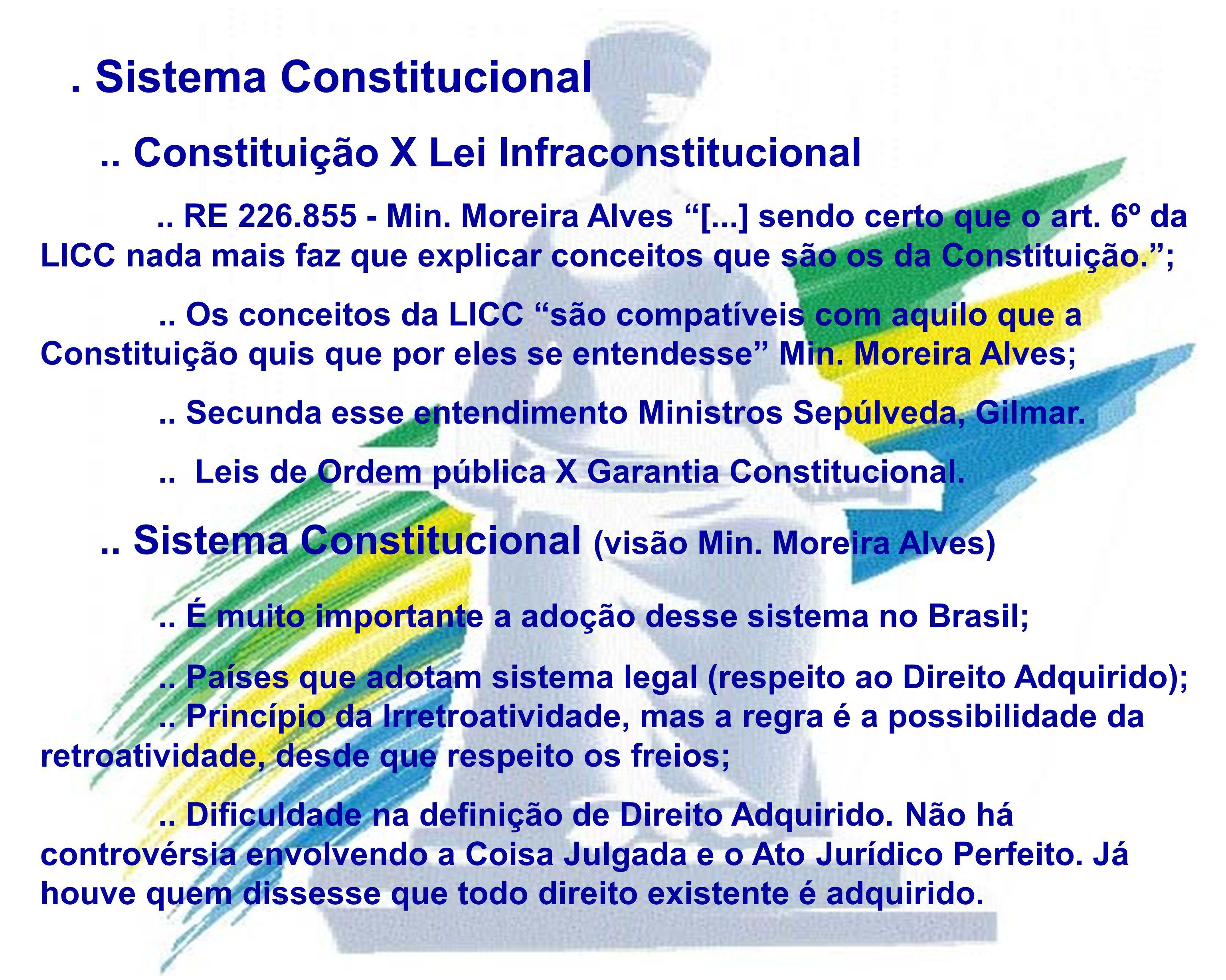 . Sistema Constitucional