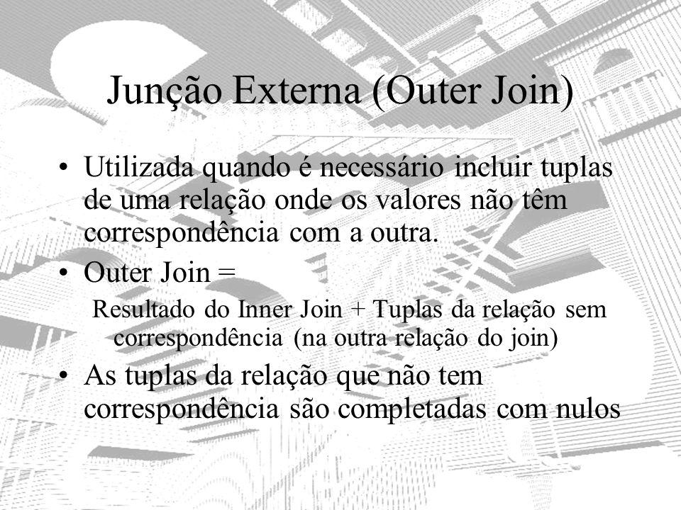 Junção Externa (Outer Join)