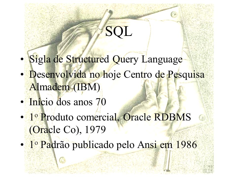 SQL Sigla de Structured Query Language