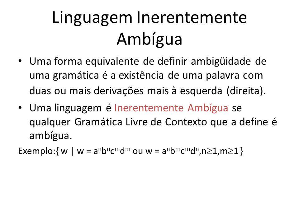 Linguagem Inerentemente Ambígua