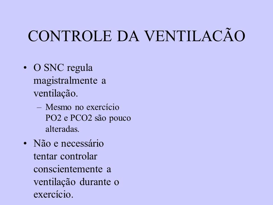 CONTROLE DA VENTILACÃO