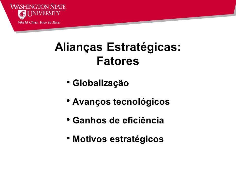 Alianças Estratégicas: Fatores