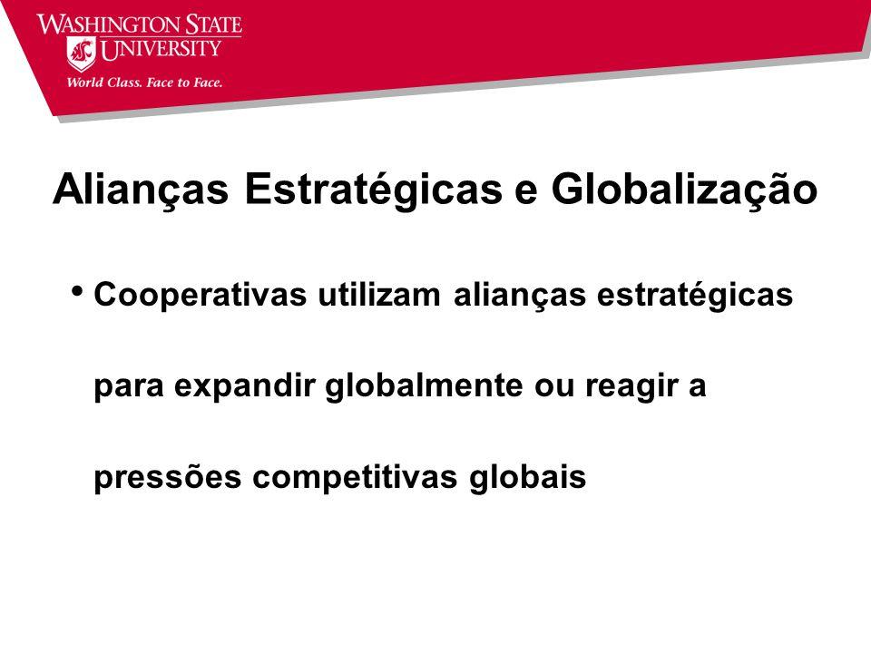 Alianças Estratégicas e Globalização