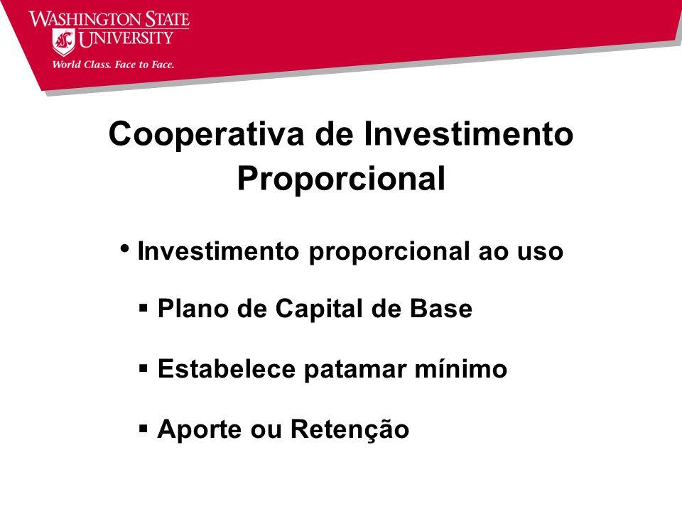 Cooperativa de Investimento Proporcional