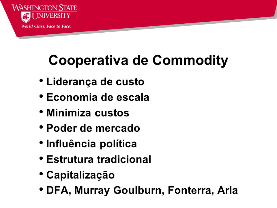 Cooperativa de Commodity