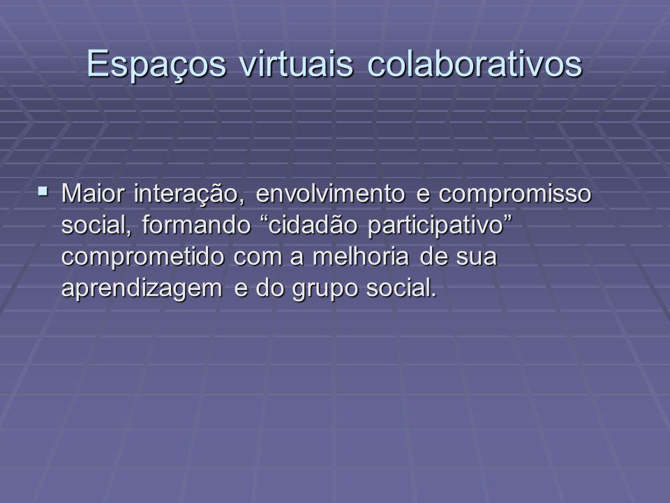 Espaços virtuais colaborativos