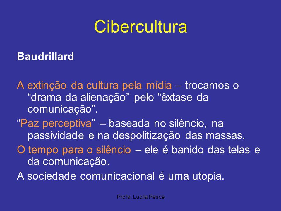 Cibercultura Baudrillard