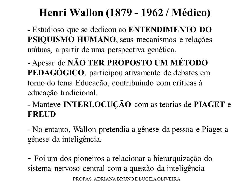 Henri Wallon (1879 - 1962 / Médico)