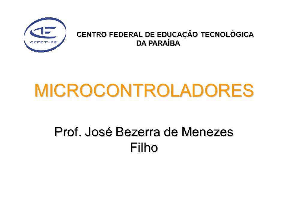 Prof. José Bezerra de Menezes Filho